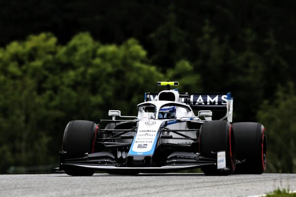 Williams Racing F1 - Austrian Grand Prix Friday practices - new livery first out