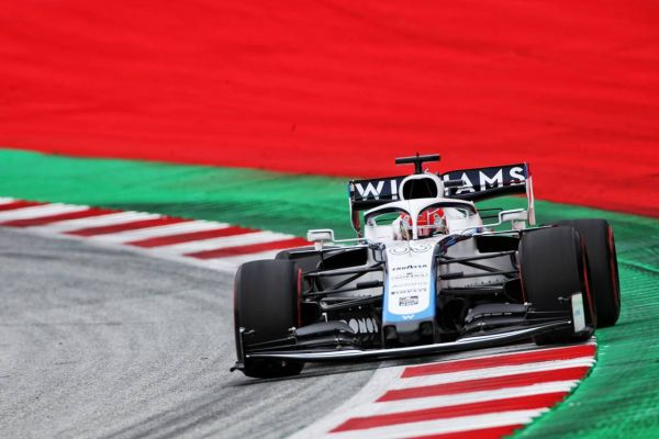Williams F1 George Russell qualified 17th and Nicholas Latifi 20th for the Austrian Grand Prix