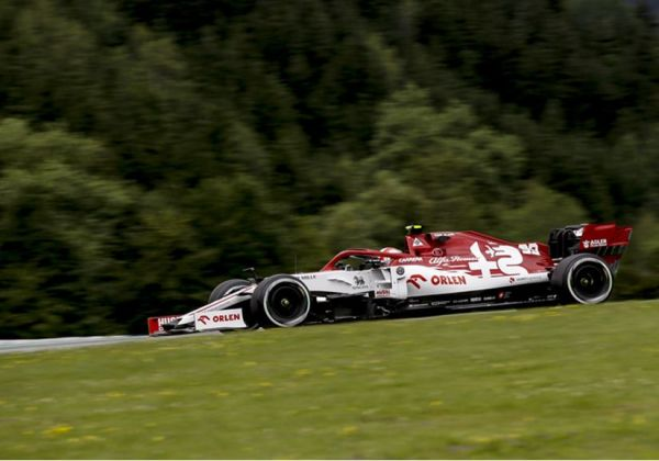 Alfa Romeo Racing Orlen Austrian Grand Prix Friday Practices review