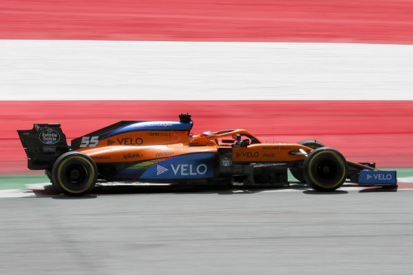 McLaren F1 Austrian Grand-Prix Friday qualifying - best team result for six years
