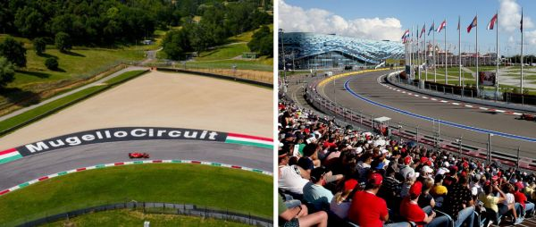 Mugello and Sochi added to revised 2020 F1 race calendar