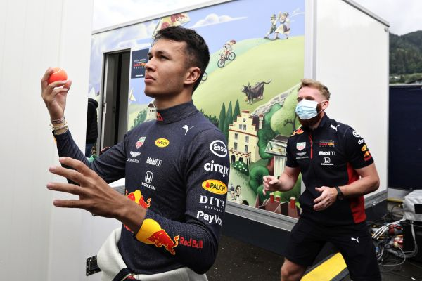 Alex Albon quotes ahead the Styrian Grand-Prix