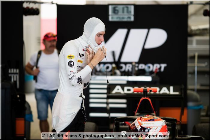 Lukas Dunner MP Motorsport quotes ahead of FIA F3 Spielberg races