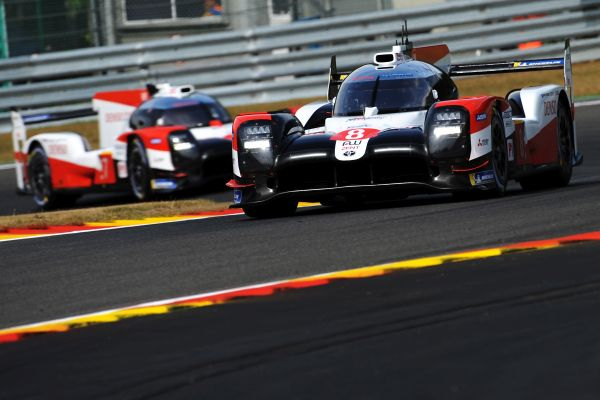 First Spa session complete for Toyota Gazoo Racing