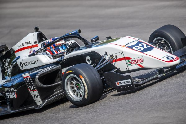 Victor Martins ups the pace at Monza in Formula Renault Eurocup
