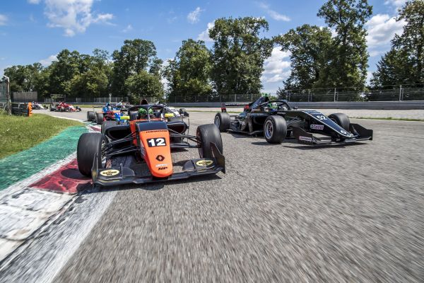 Monza Test combined days classification in Formula Renault Eurocup - Martins on top
