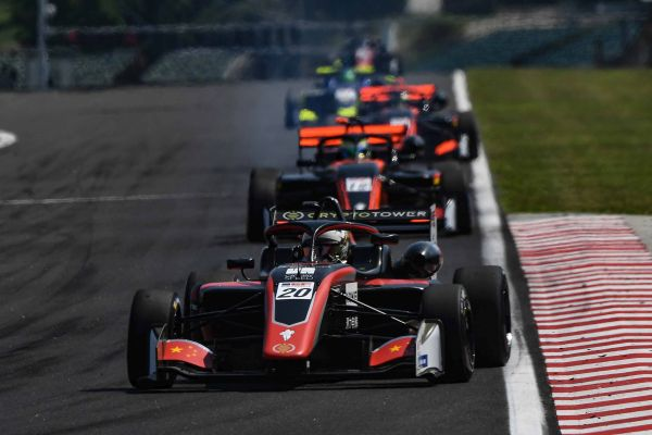 Yifei Ye and CryptoTower Racing make history at Hungaroring in the debut of the new Dallara 320