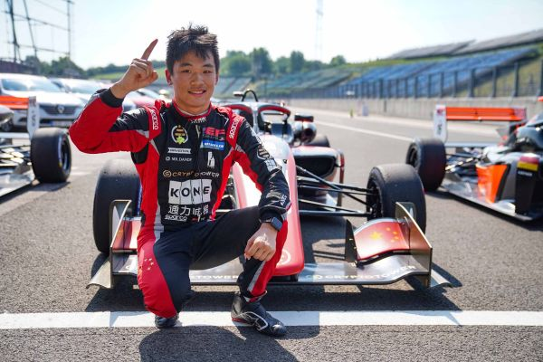 EuroFormula Open Hungaroring race 2 classification - another victory for Yifei Ye