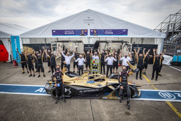The final battle of Berlin saw Jean-Eric Vergne secure third in the Drivers Championship