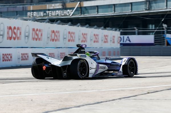 BMW i Andretti Motorsport outside the points in fifth Formula E race in Berlin.