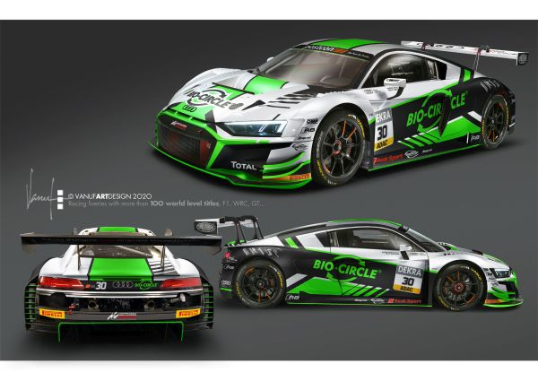 Team WRT debuts with a strong line-up in the ADAC GT Masters