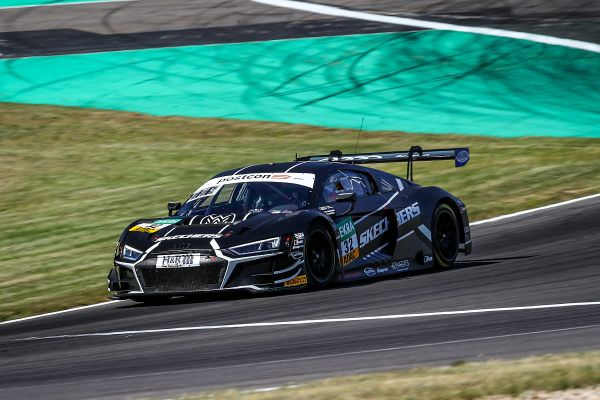 Lausitzring ADAC GT Masters race 2 classification - Team WRT Audi #32 takes victory