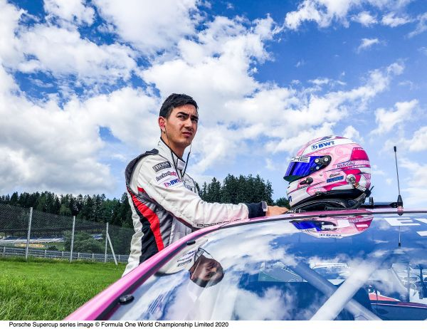 Porsche Junior Evans on pole - Llarena youngest Supercup driver of all times