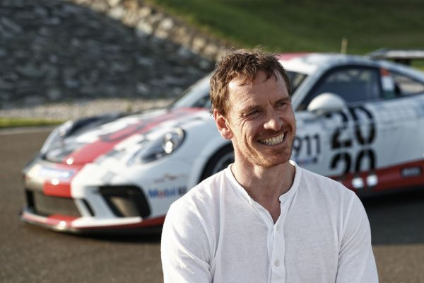 Porsche Supercup debut in Barcelona for Hollywood star Michael Fassbender