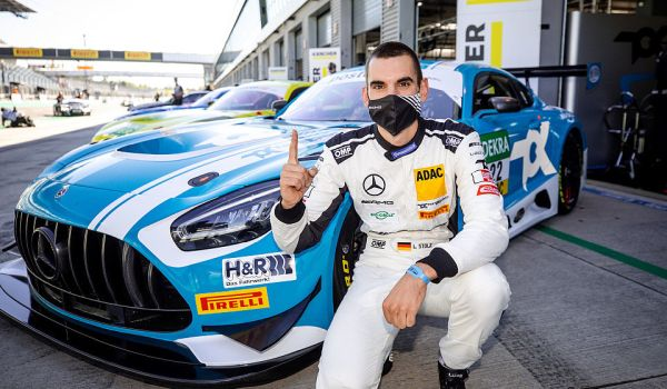 Team Toksport WRT's Luca Stolz is first pole-sitter of new ADAC GT Masters season at Lausitzring