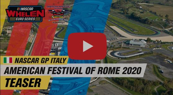 Watch the Nascar GP Italy teaser - revised calendar 2020