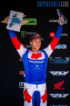 Team Honda HRC's quotes after AMA Supercross Salt Lake City - results,standings