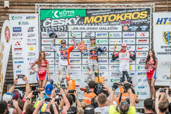 Red Bull KTM's Vialle takes more red plates with Czech MX podium spree