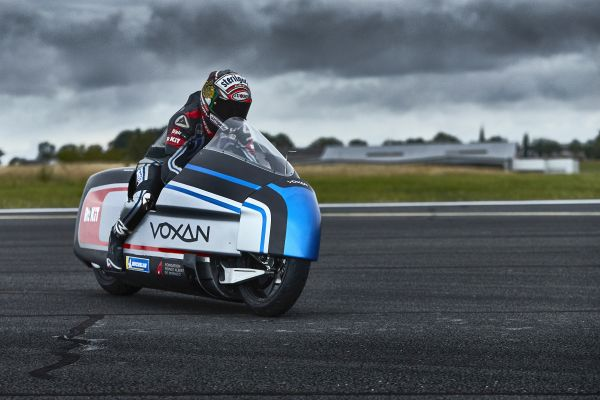 Voxan Wattman - first high-performance electric motorcycle