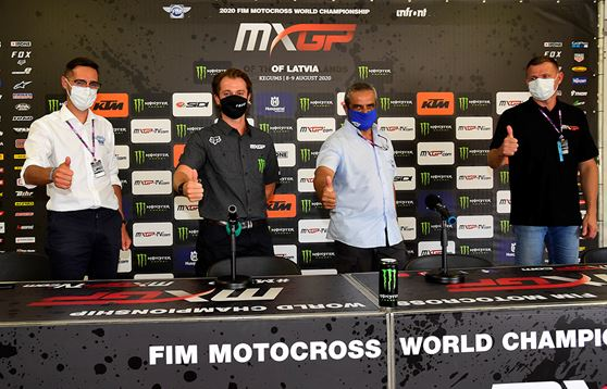 Welcome press conference officially presents the restart of 2020 MXGP