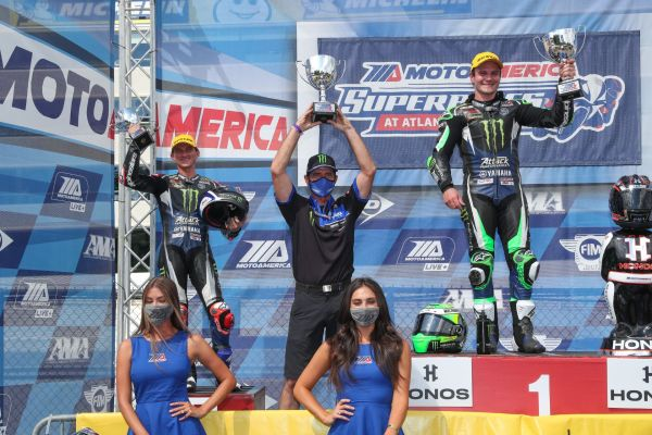 Yamaha's Beaubier, Gagne Bring the Heat with Another 1-2 Finish at Road Atlanta