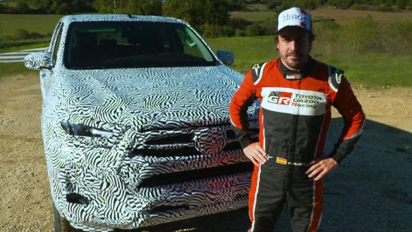 New 2020 Toyota Hilux tested by Fernando Alonso