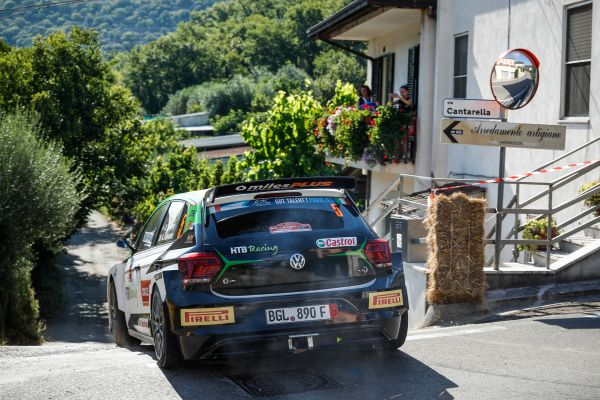 Oliver Solberg clinches ERC1 Junior victory on Roma debut