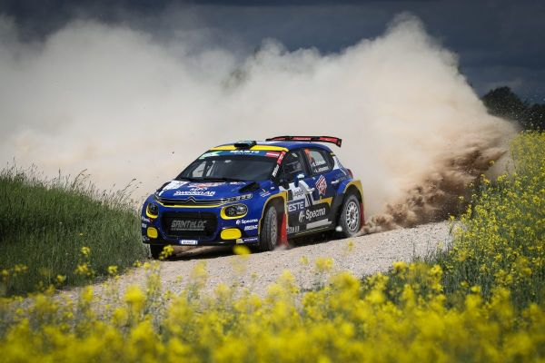 Live stages for ERC Rally Liepaja all set