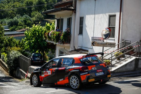 ERC Rally di Roma Capitale stage 13 top 15 - leader trio unchanged