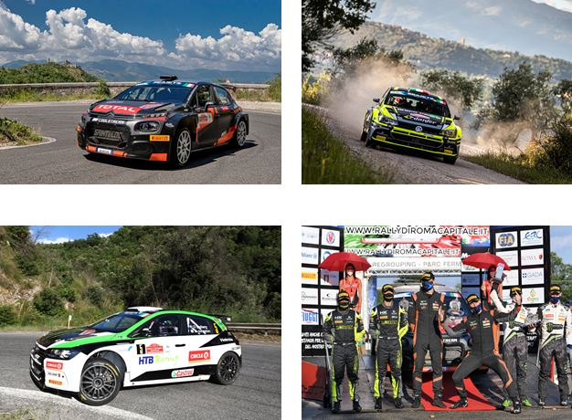 Pirelli locks out top three places in Rome as international rallying returns