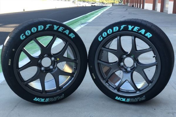 Goodyear unveils unique Eagle F1 SuperSport tyre for Pure ETCR