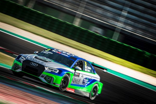 Team Italy Audi RS 3 tops the first TCR DSG Europe qualifying session of the new endurance series