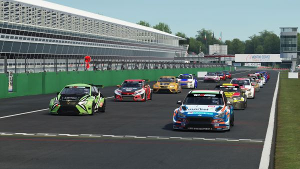 TCR Europe SIM Racing series - Dramatic Monza races end in wins for Azcona and Nagy - standings