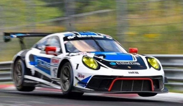 Edoardo Liberati quite confident in a good result for round 4 of Nürburgring Langstrecken Serie