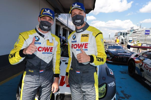 ROWE RACING takes Nürburgring Endurance Series race four victory