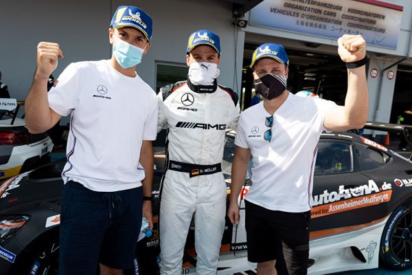More success for Mercedes AMG Team HRT AutoArena with another NLS podium