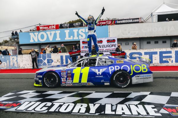 NASCAR GP CROATIA - Stienes Longin prevails in three-way battle for the win at Automotodrom Grobnik