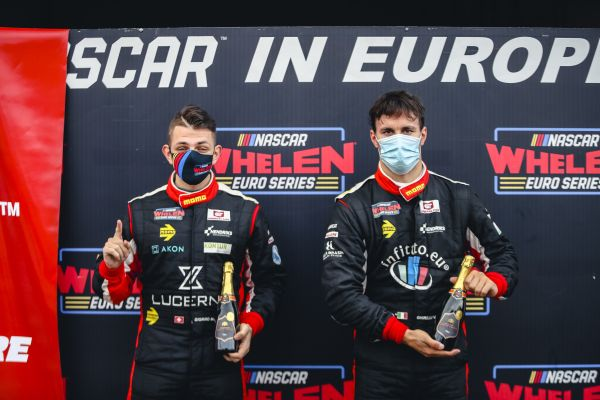 NASCAR GP CROATIA - Giorgio Maggi and Vittorio Ghirelli win first ever NWES Pole Awards at Automotodrom Grobnik