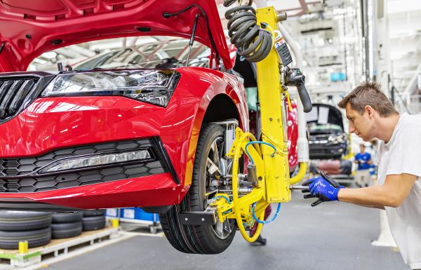 SKODA AUTO gains additional capacity within VOLKSWAGEN Group's production network