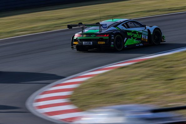 Audi Sport Podium place at the ADAC GT Masters finale
