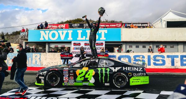 NASCAR GP CROATIA Alon Day ties Ander Vilarino's all-time record of 22 NASCAR Whelen Euro Series race wins