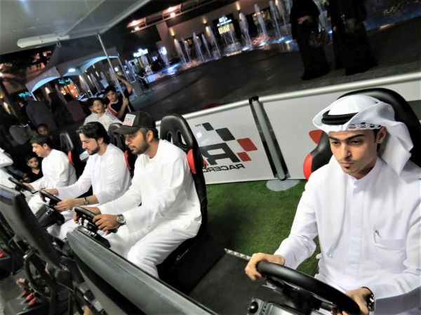 Race is on for City Walk title as Motorsport gets new dimension in Dubai with eSports