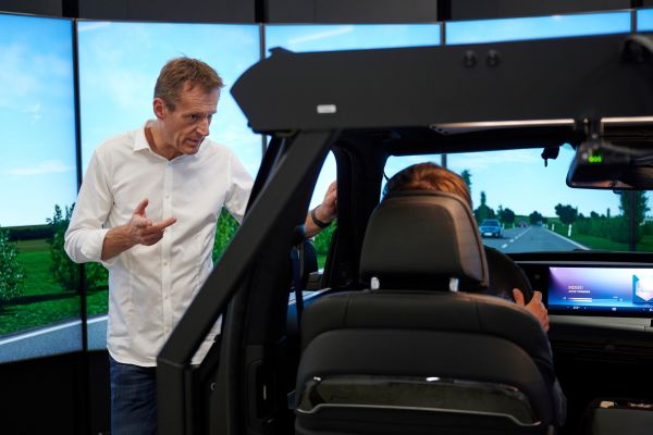 BMW Driving Simulation Centre - The new benchmark for the automotive industry .