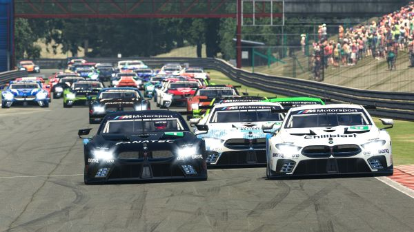 BMW SIM 120 Cup provides top-class virtual racing in 2020
