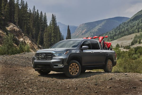 Redesigned 2021 Honda Ridgeline Unleashes New Styling to Match its Rugged and Versatile Truck Capabilities