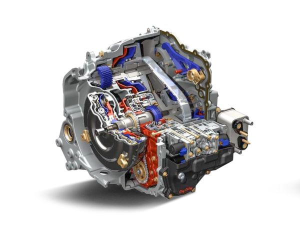 Opel Astra with Efficient Stepless Transmission