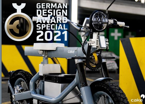 CAKE Ösa Wins 2021 German Design Award