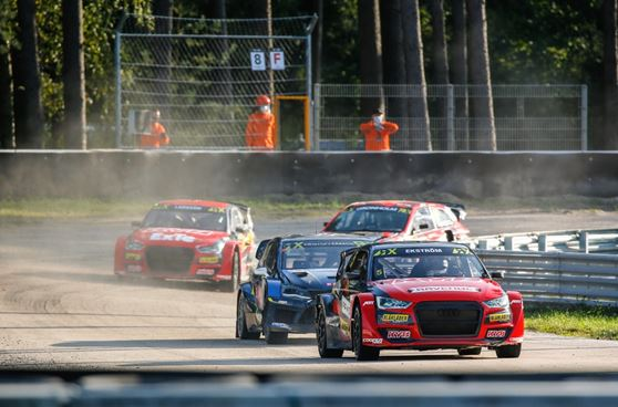 Ekstrom storms to Riga World RX victory