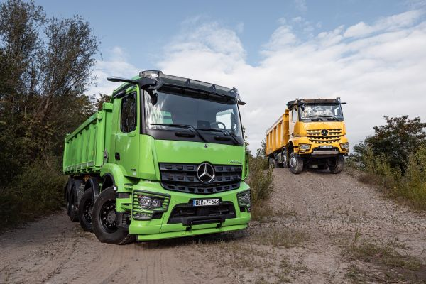 Innovating the construction industry with the new Mercedes-Benz Arocs