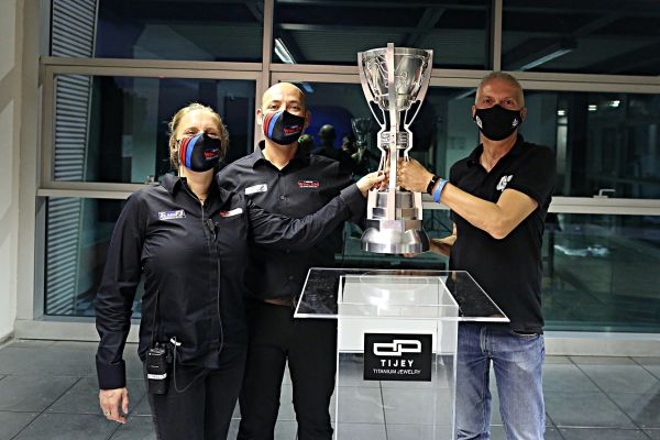 NWES and Tijey unveil new iconic Nascar Whelen Euro Series championship trophy